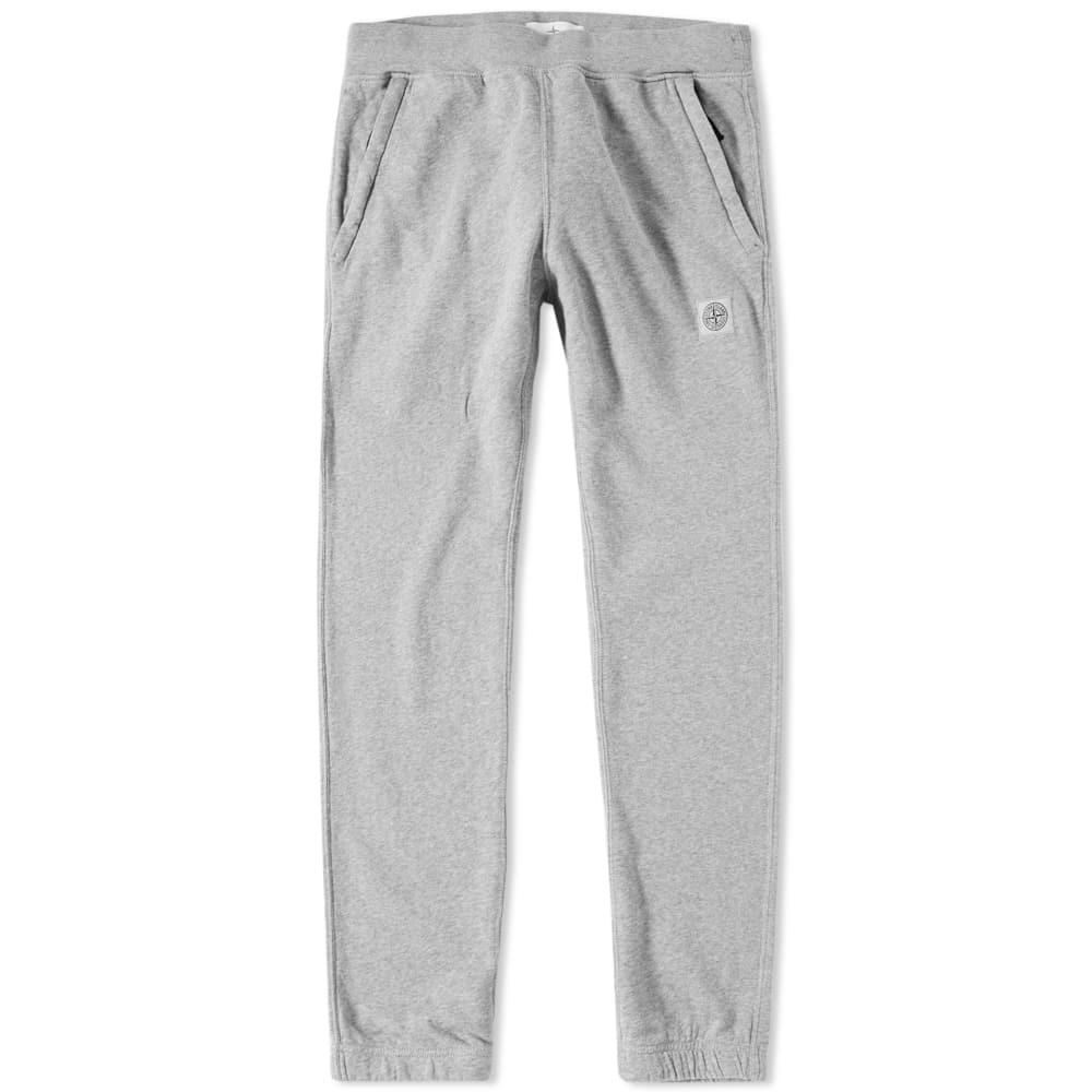 Stone Island Patch Jogging Pant In Grey