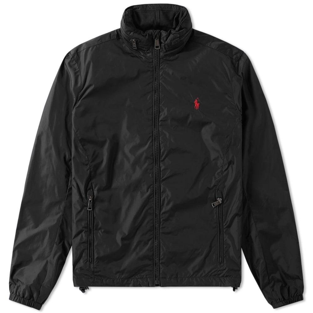 Polo Ralph Lauren Nylon Harrington Jacket In Black