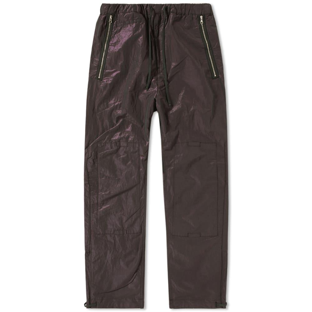 Stone Island Shadow Project Tonic Cotton Track Pant In Green