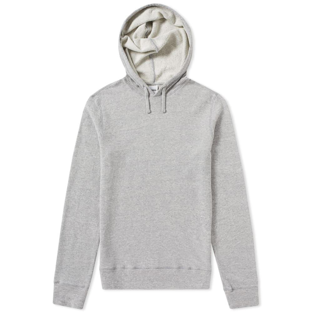 Aspesi Japanese Jersey Hoody In Grey