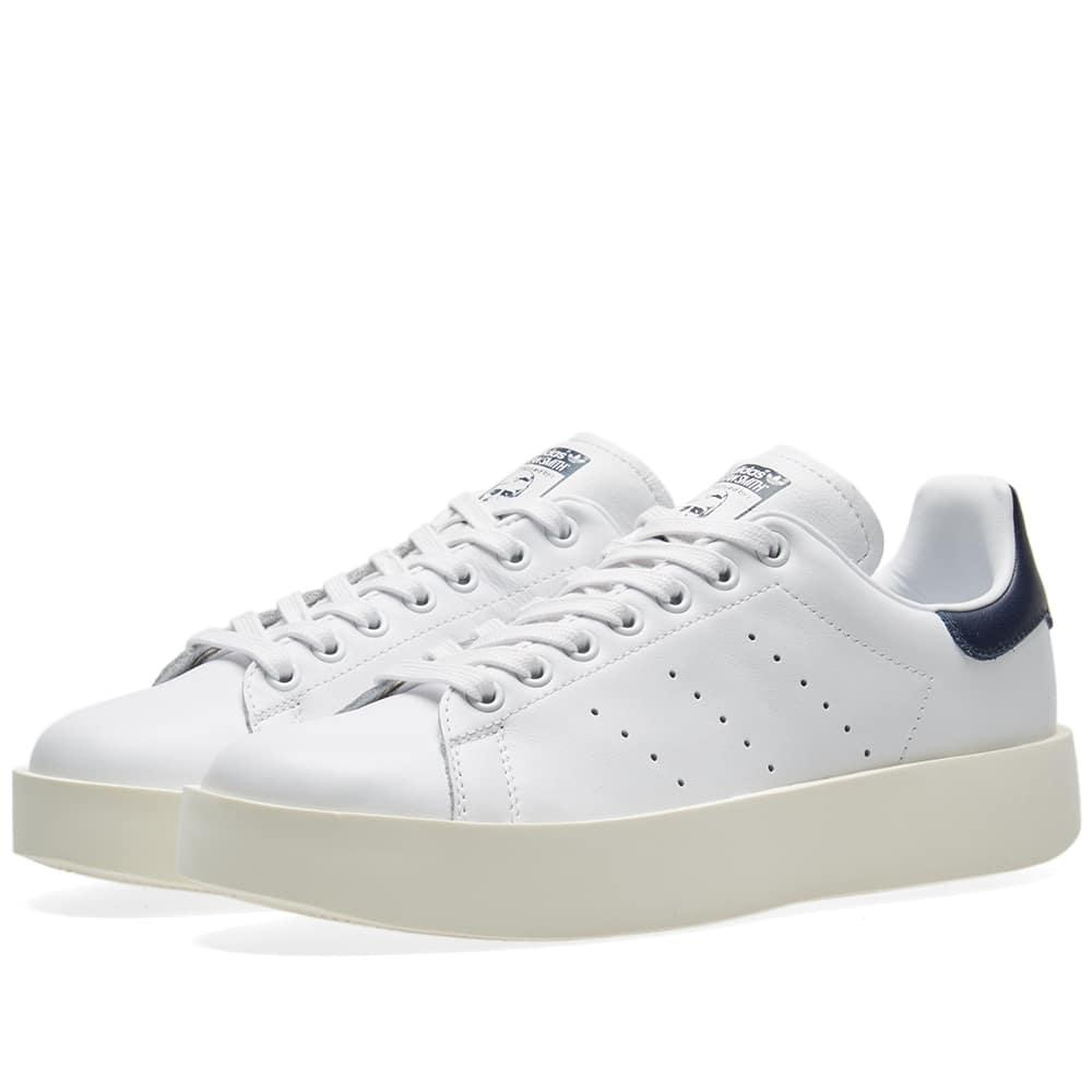 Adidas Originals Adidas Stan Smith Bold W In White