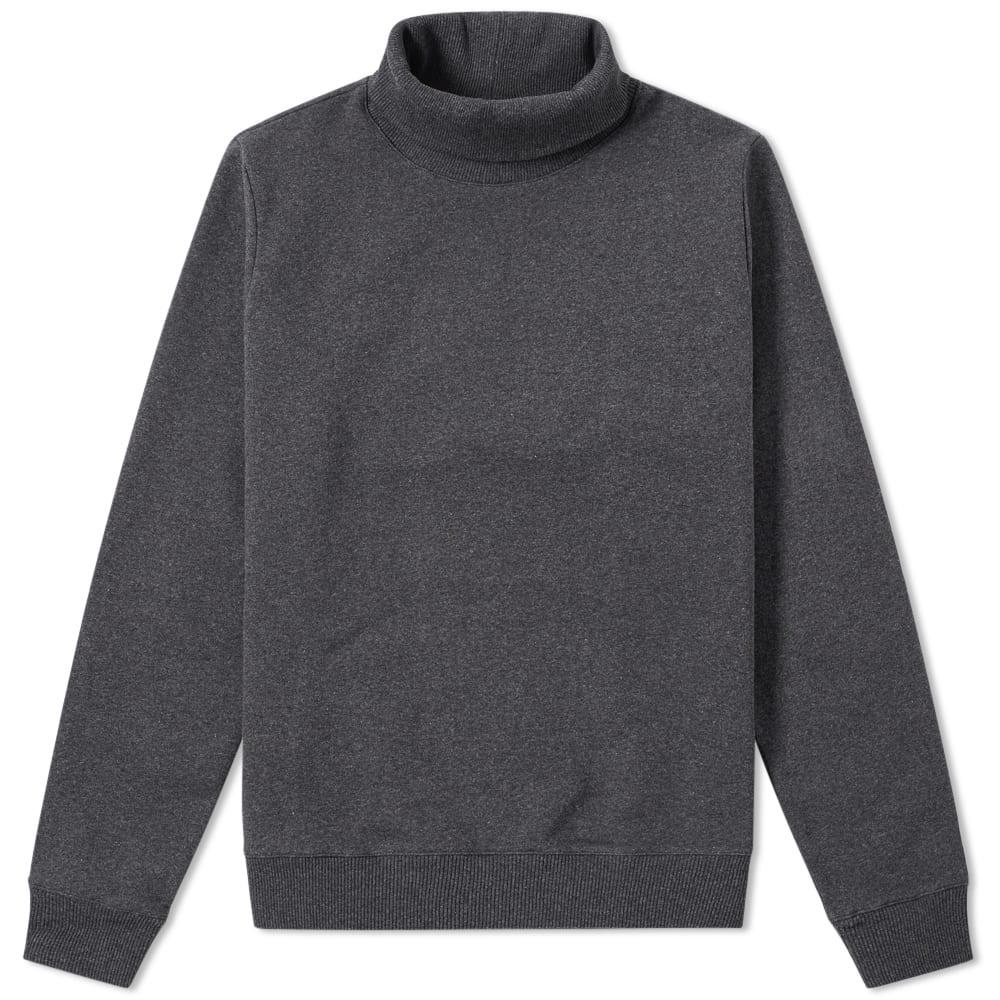 A.p.c. Octave Roll Neck Sweat In Grey