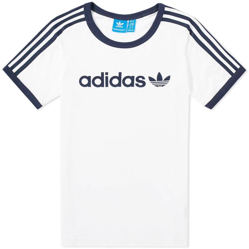 Adidas Originals Adidas Linear Tee In White