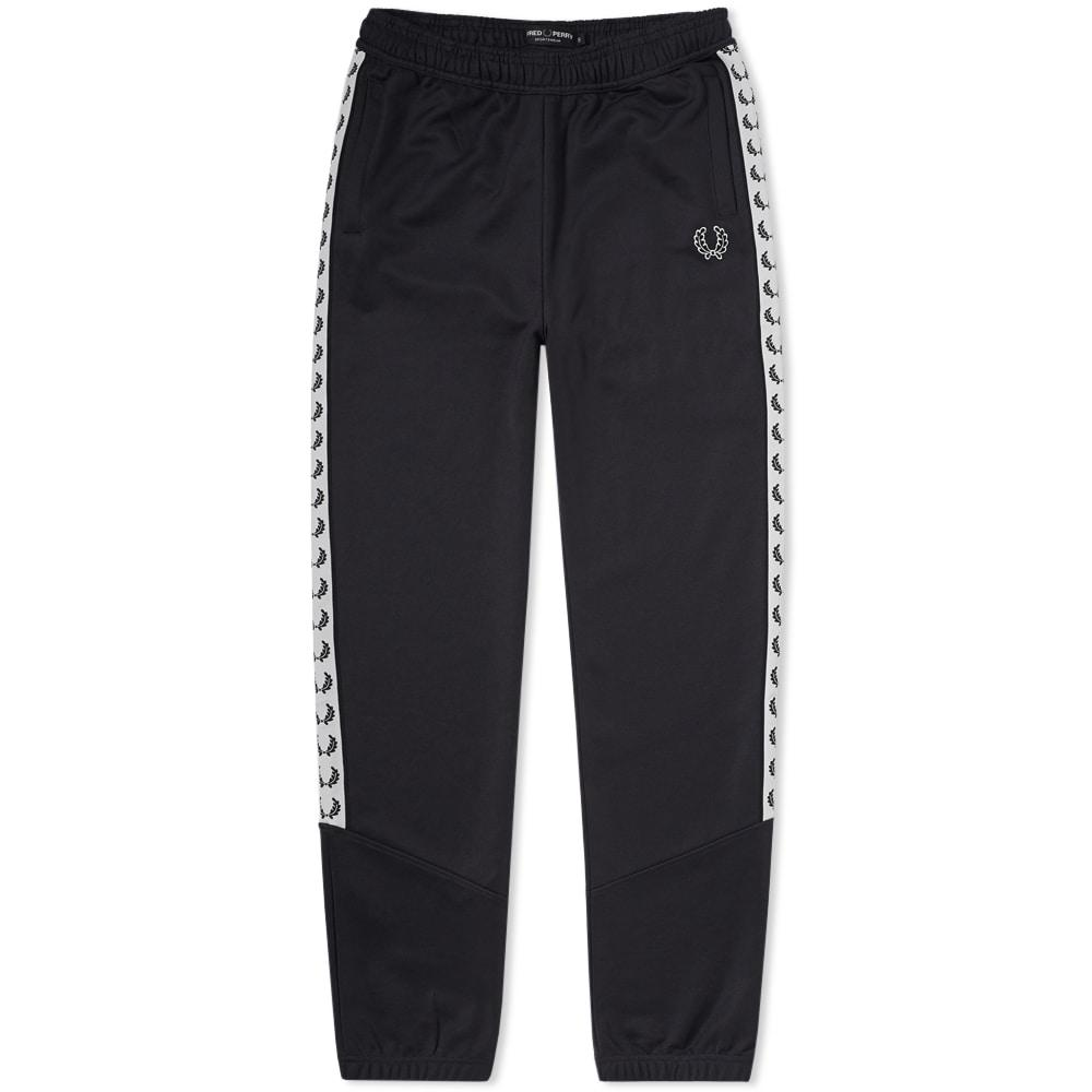 Fred Perry Taped Track Pant In Black