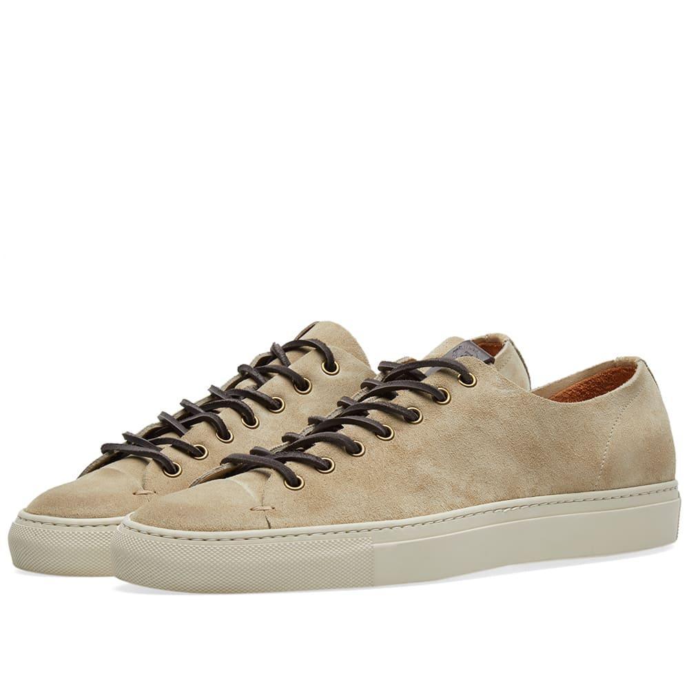 Buttero Tanino Low Suede Sneaker In Neutrals