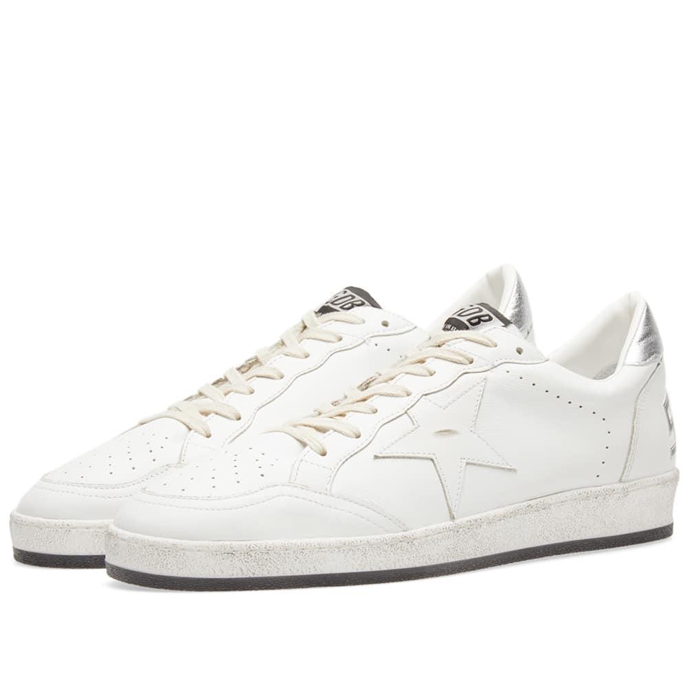Golden Goose Deluxe Brand Ballstar Sneaker In White