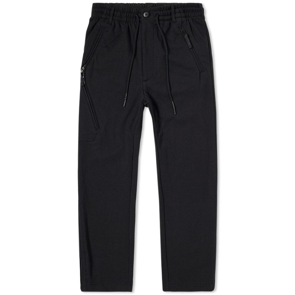 Y-3 Articulated Zip Pocket Track Pant In Black