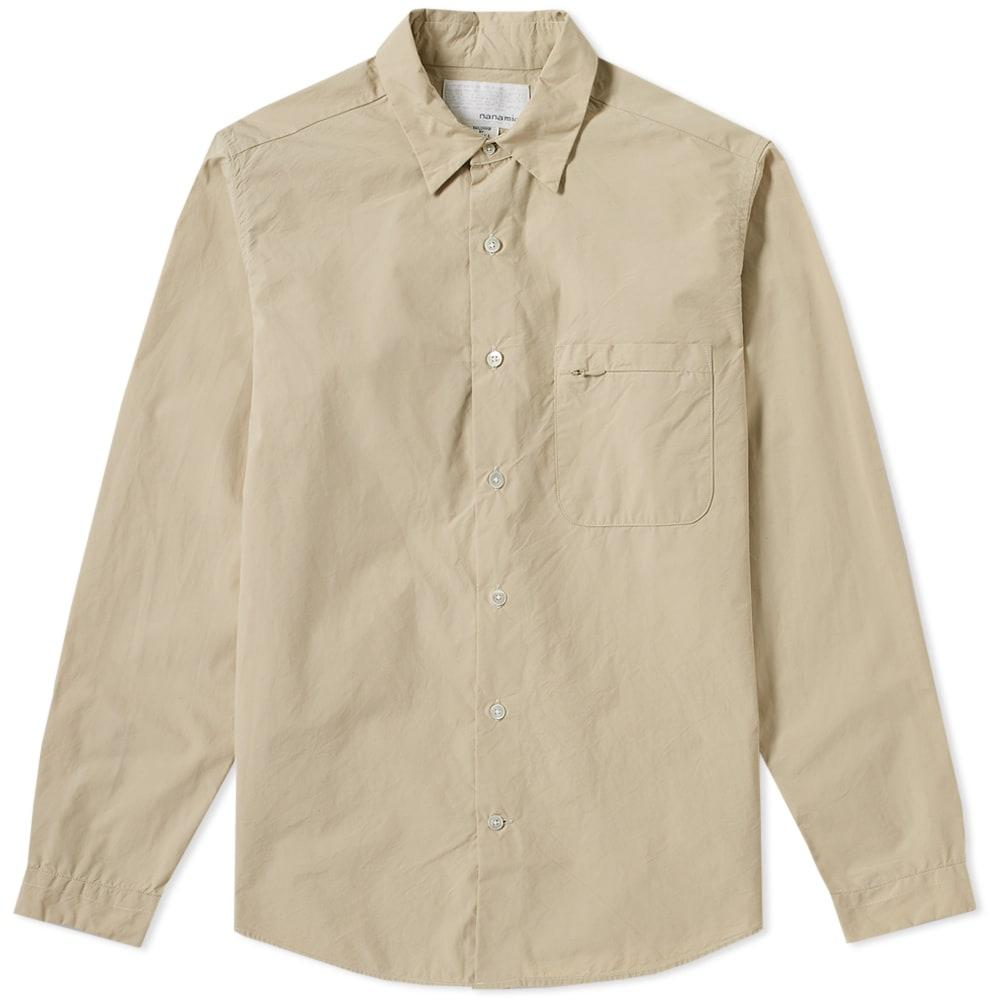 Nanamica Wind Shirt In Brown