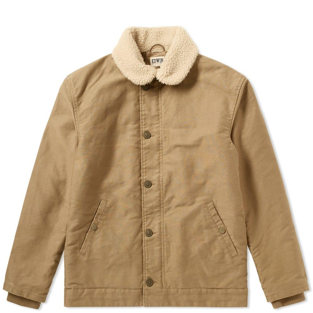 Edwin Sheffield Jacket In Brown
