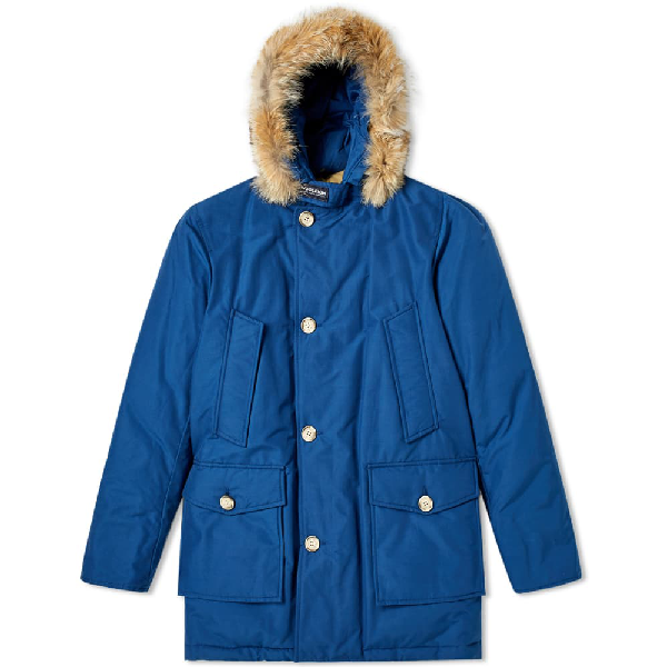 Woolrich Arctic Parka Df In Blue