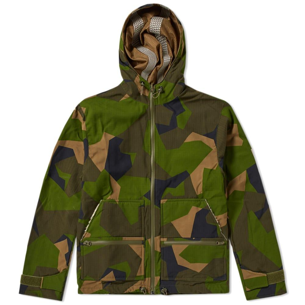 Ark Air Essential Rainshield Jacket In Green