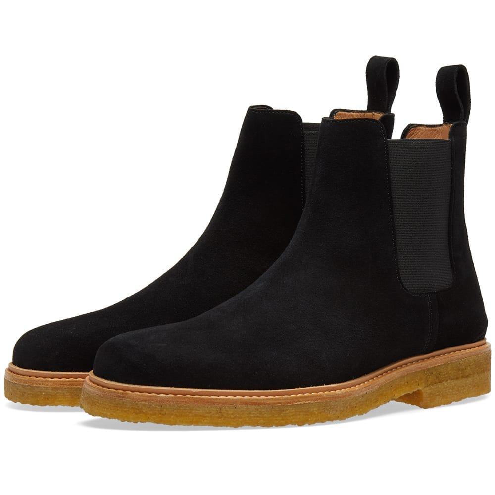 Zespa Chelsea Boot In Black