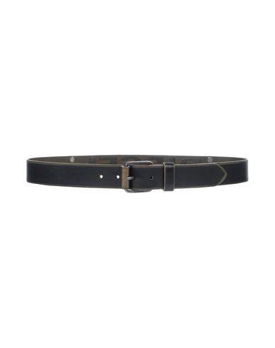 Diesel Belts In Steel Grey