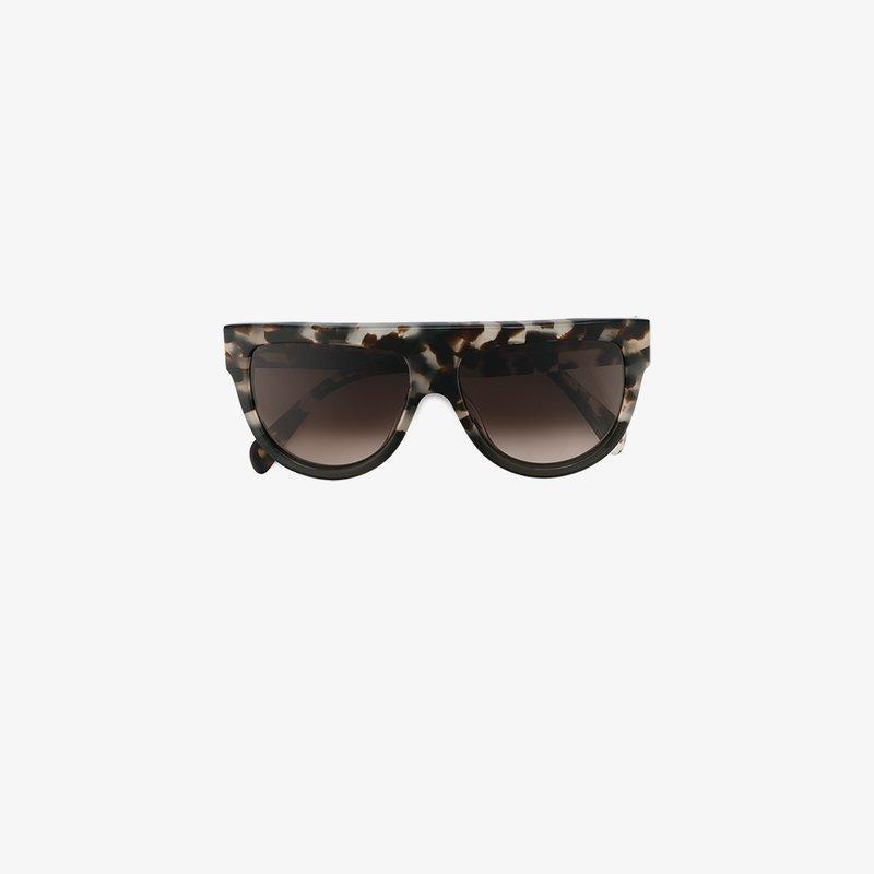 Celine Cat Eye Frame Sunglasses In Grey