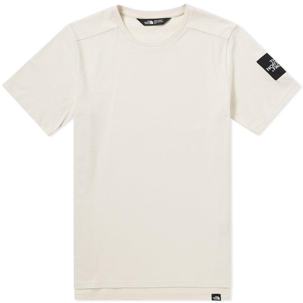The North Face Fine 2 Tee In Neutrals