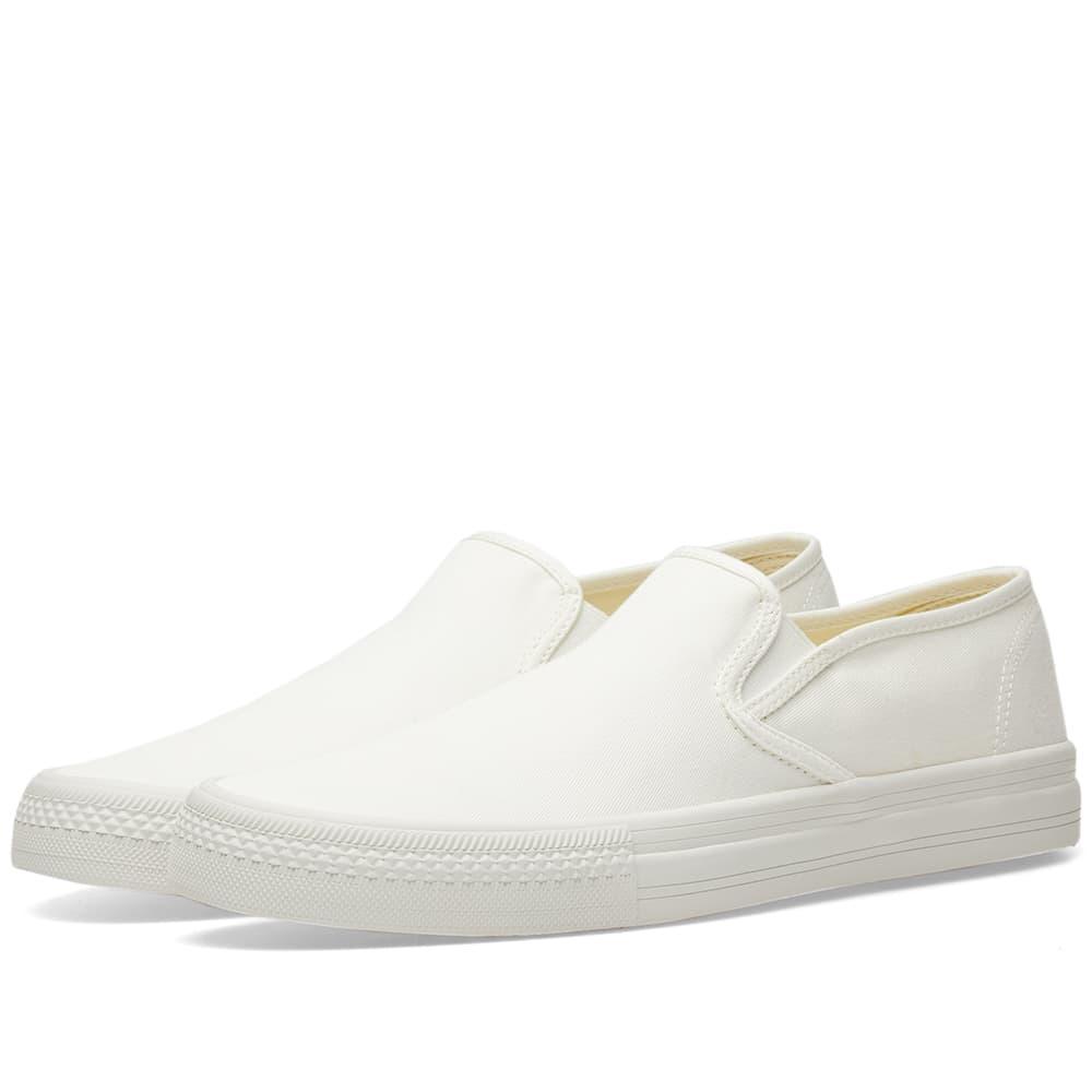 Junya Watanabe Man Cotton Twill Slip On In White