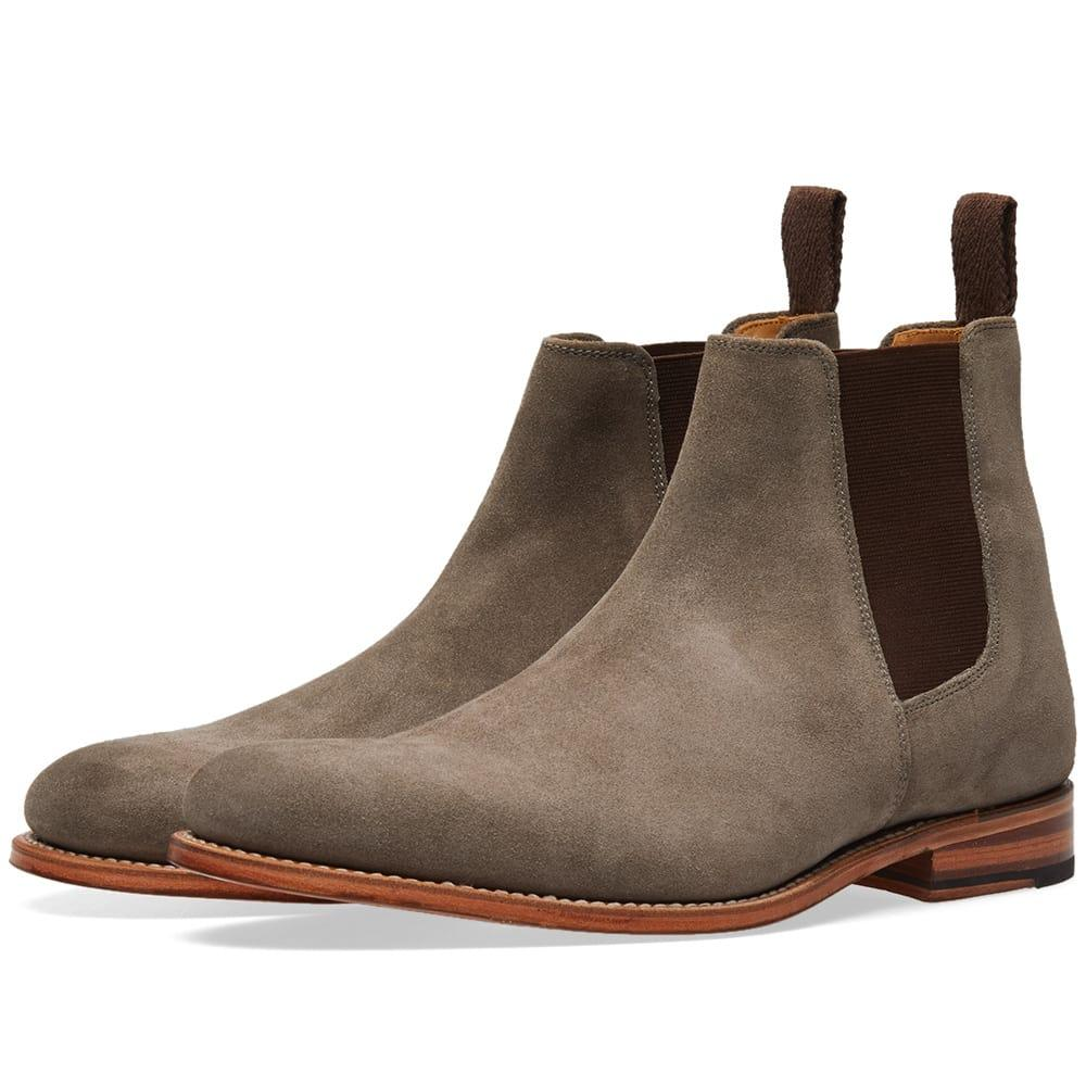 Grenson Declan Chelsea Boot In Grey
