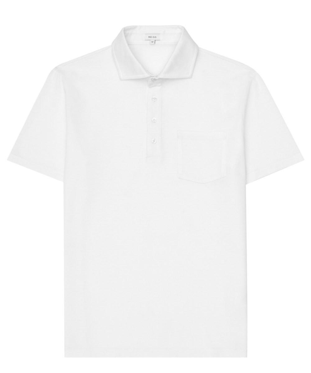 Reiss Polo In White