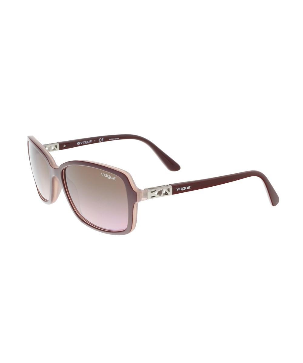Vogue Vo5031s 23714 Purple Square Sunglasses