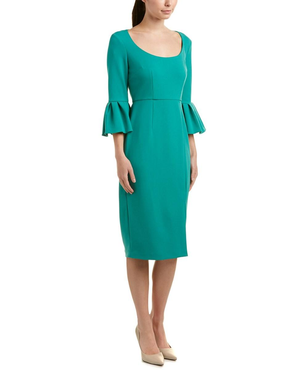 Donna Morgan Midi Dress In Green