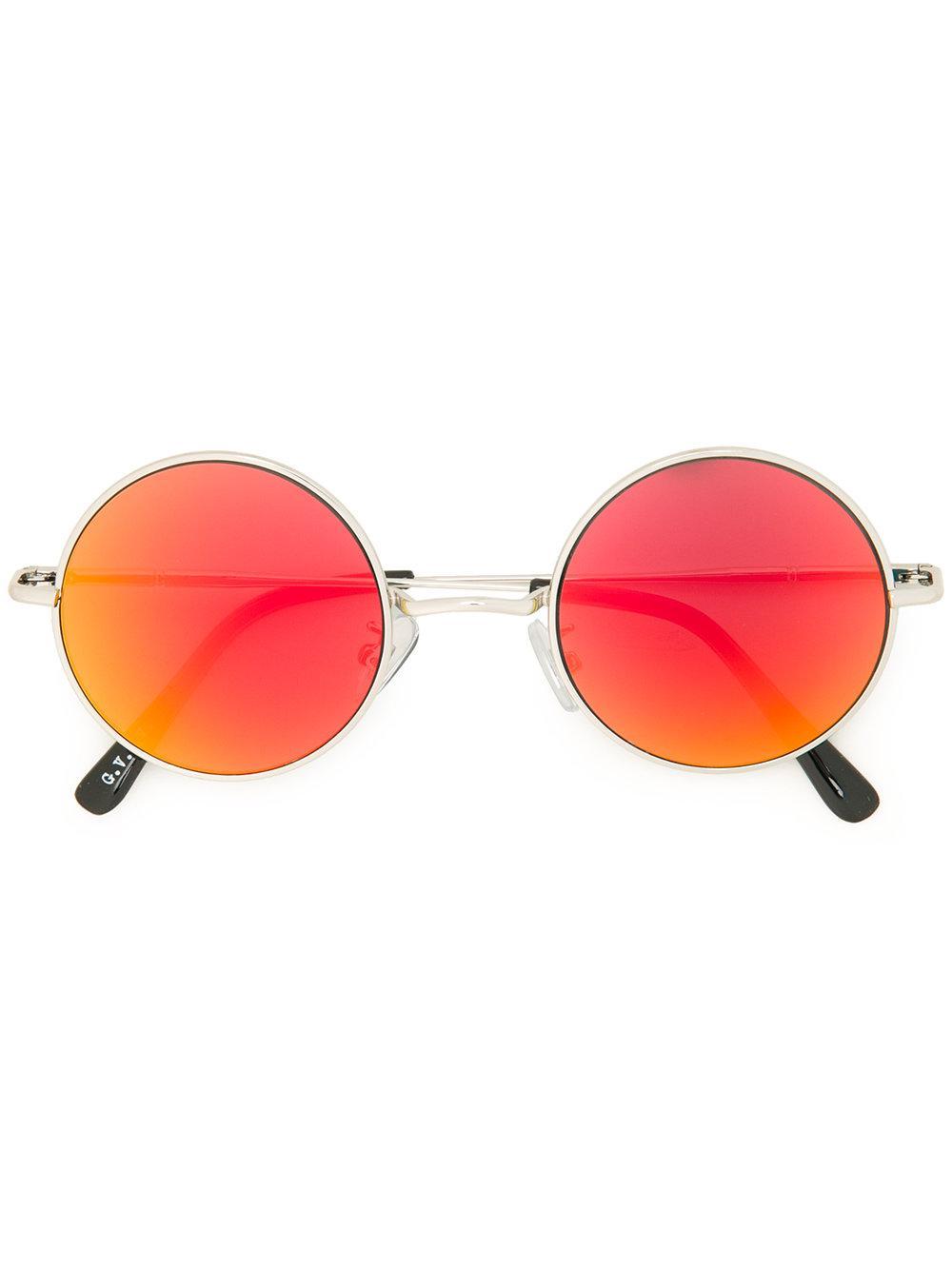 G.v.g.v. Round Frame Sunglasses