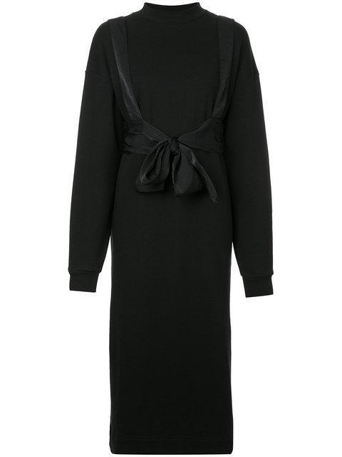 G.v.g.v. Belted Sweatshirt Dress