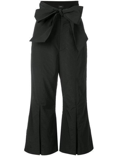 G.v.g.v. Wide Belt Cropped Trousers