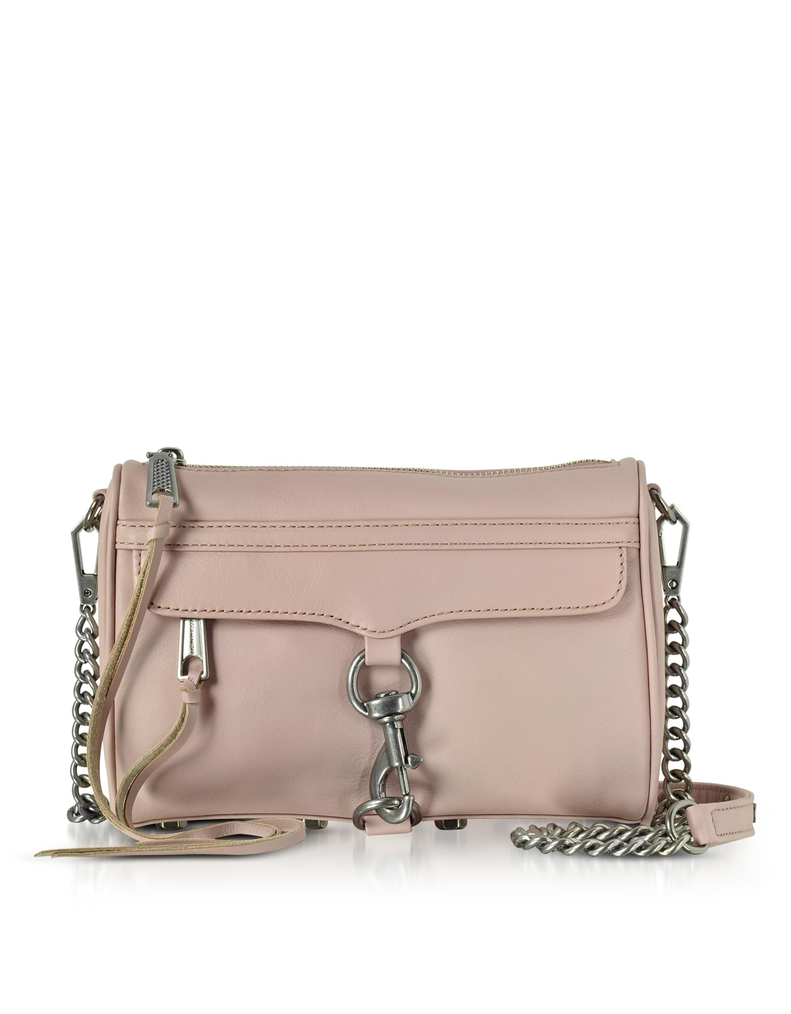 Rebecca Minkoff Vintage Pink Mini Mac Clutch/shoudler Bag