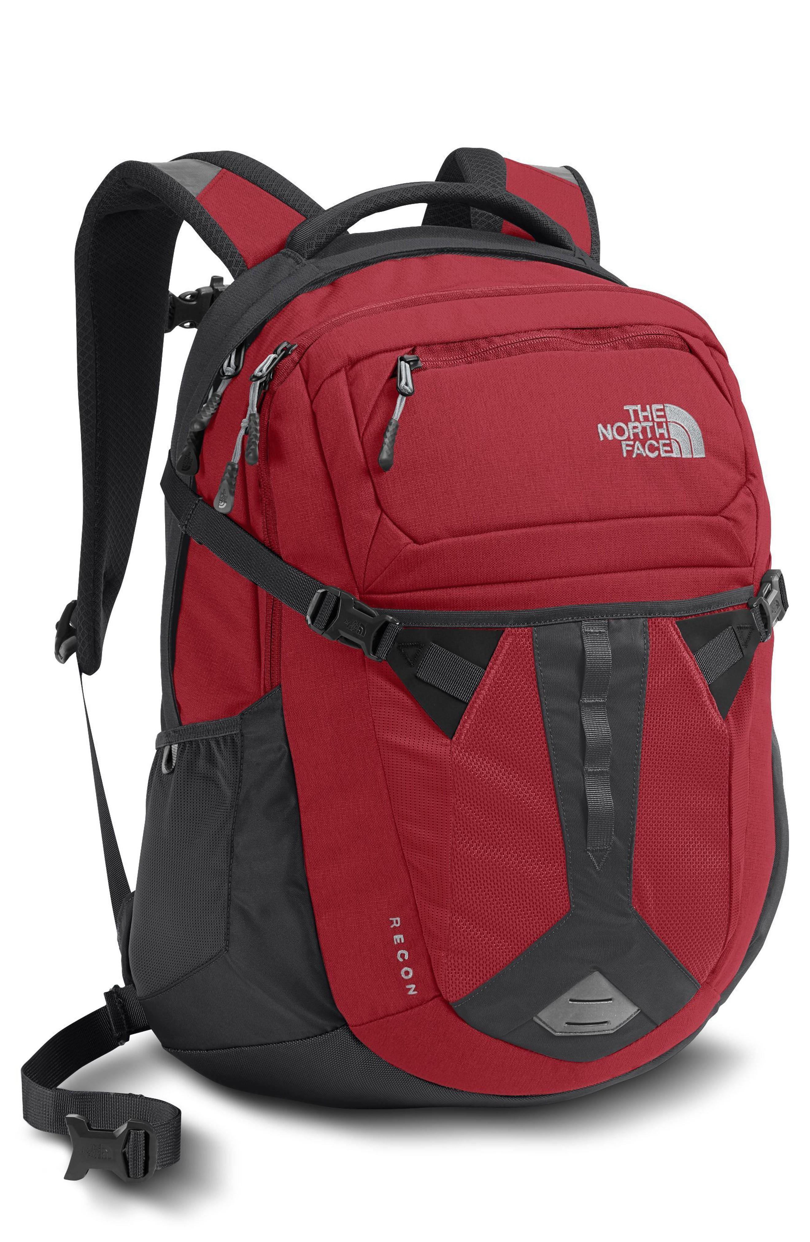 b502a90353a8 The North Face Recon Backpack - Red In Rage Red/ Asphalt Grey | ModeSens