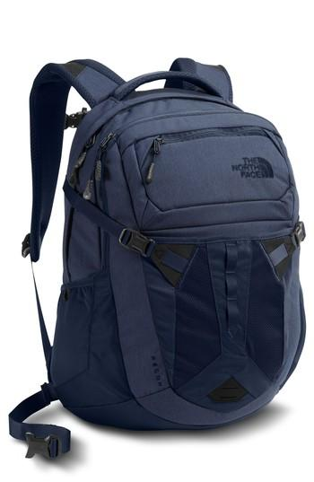 The North Face Recon Backpack - Blue In Urban Navy Heather/ Navy