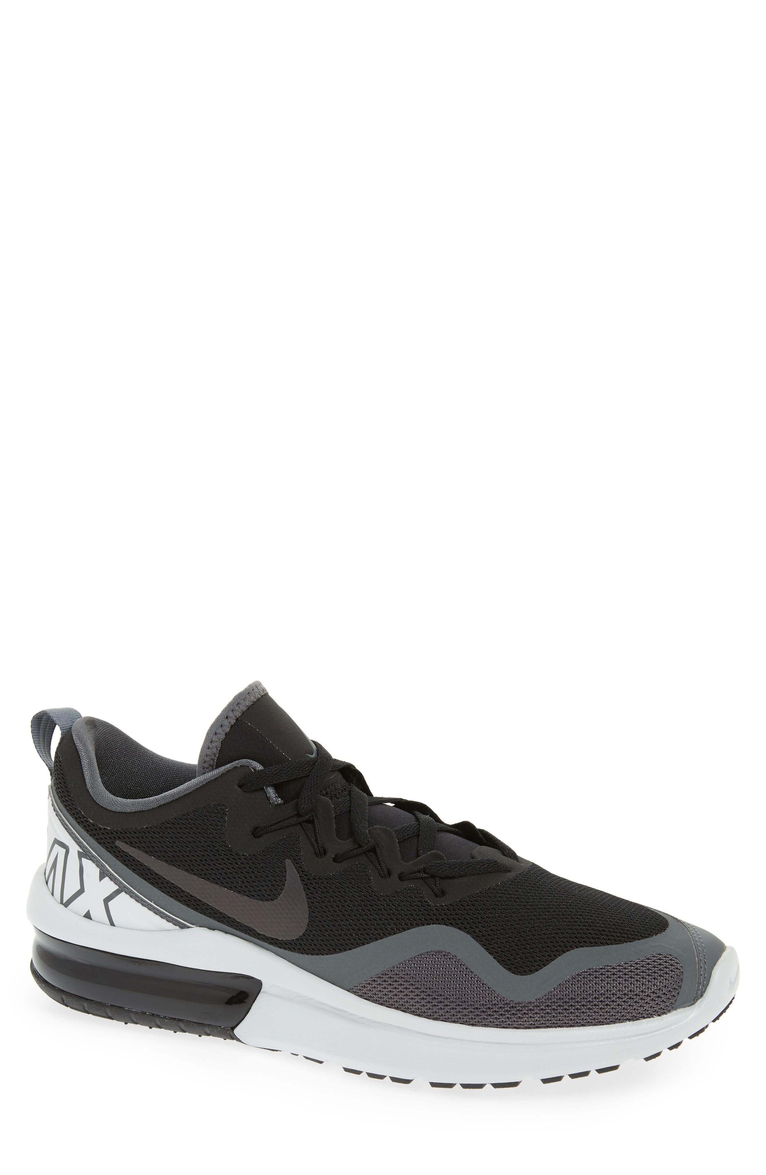 6f77764cfa4 Nike Air Max Fury Running Shoe In Black  Multi-Color-Dark Grey ...