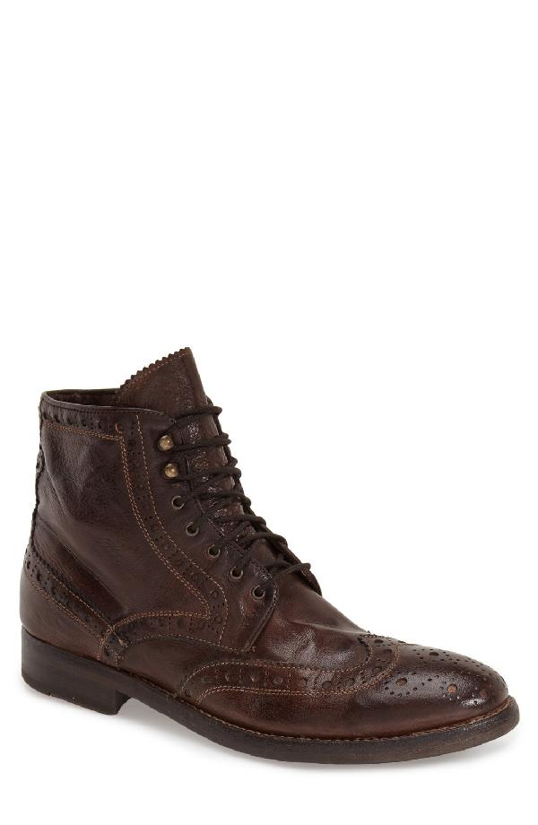 Gordon Rush 'brennan' Boot In Chocolate Leather