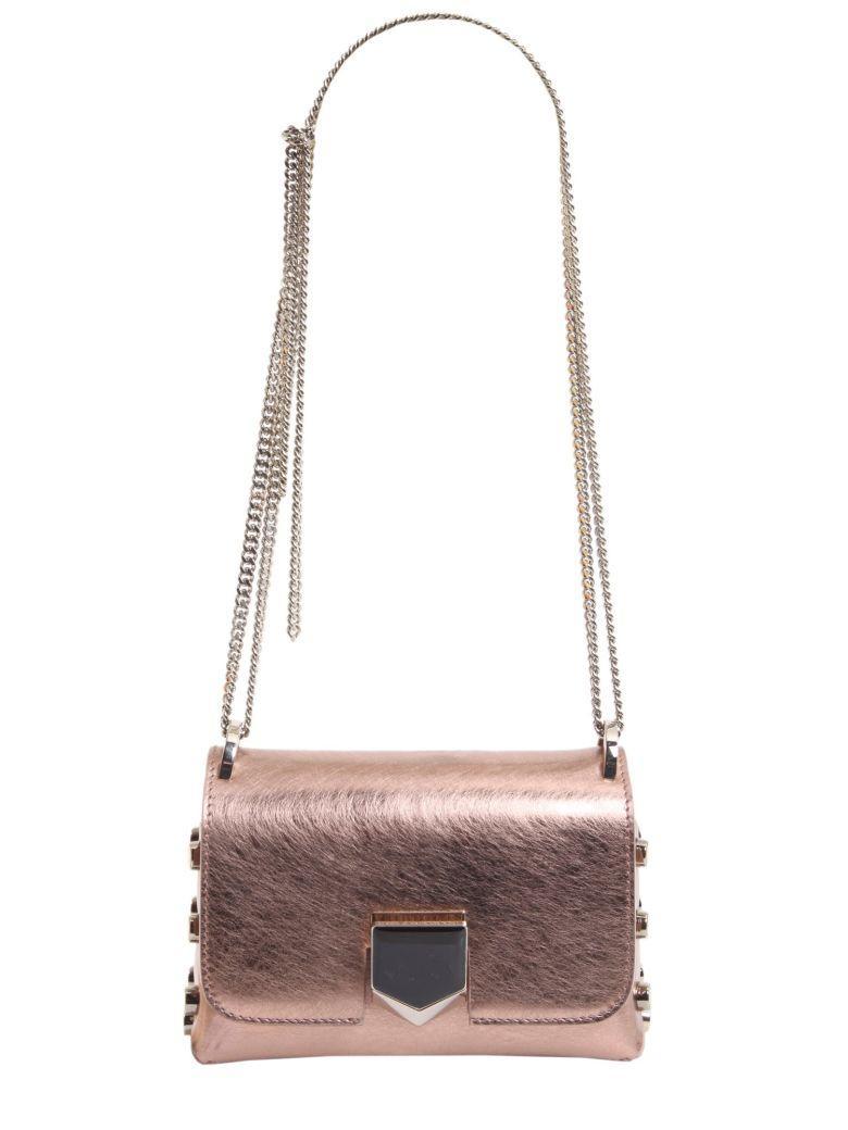 Jimmy Choo Lockett Mini Bag In Rosa