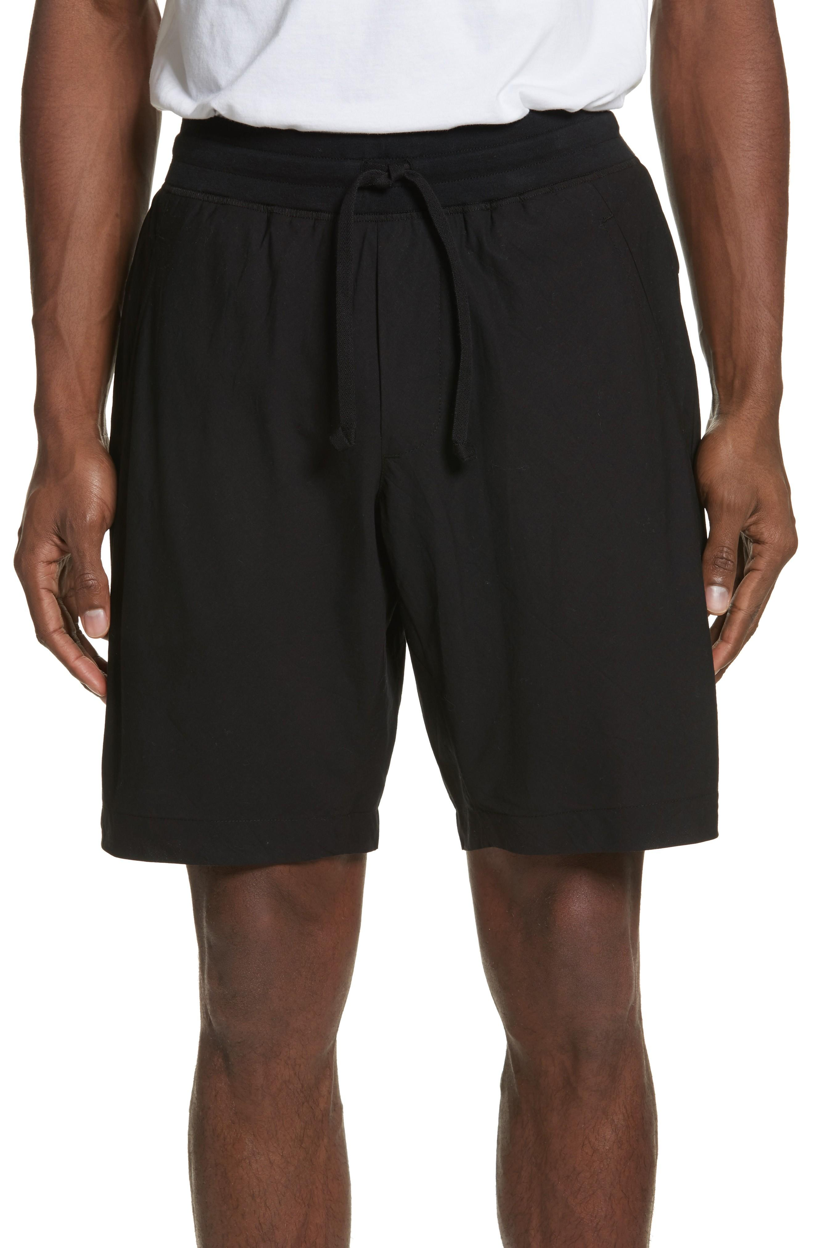 Wings + Horns Overlay Shorts In Black