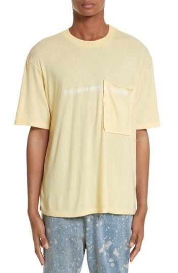 Drifter Ibidem Pocket T-shirt In Sunshine