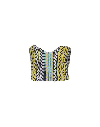 Just Cavalli Tube Top In Yellow