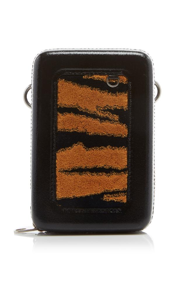 Proenza Schouler Mini Bag With Macrame Strap In Black