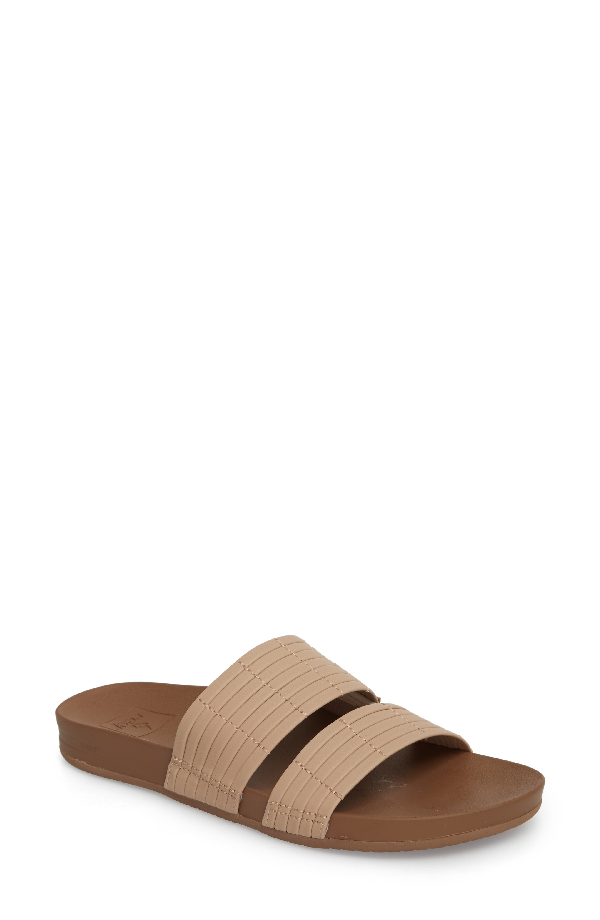 Reef Cushion Bounce Slide Sandal In Nude