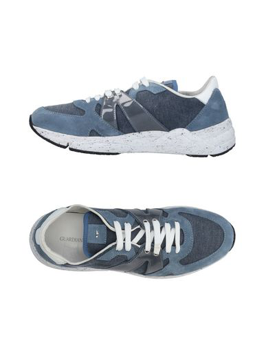 Alberto Guardiani Sneakers In Slate Blue