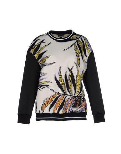 Just Cavalli Sweatshirts In Ivory