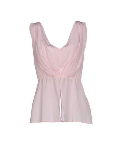 Dondup Silk Top In Pink