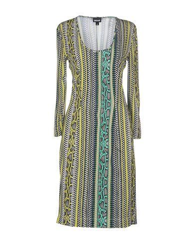 Just Cavalli Short Dress In Yellow