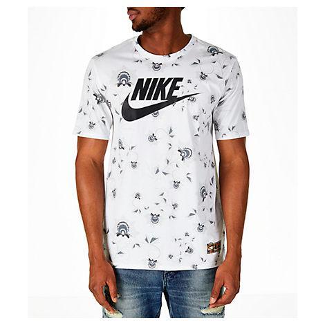 b39413fe Nike Men's Sportswear Floral T-Shirt, White | ModeSens