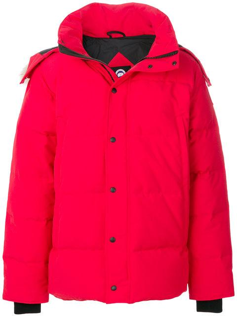 Canada Goose Short Padded Coat - Red