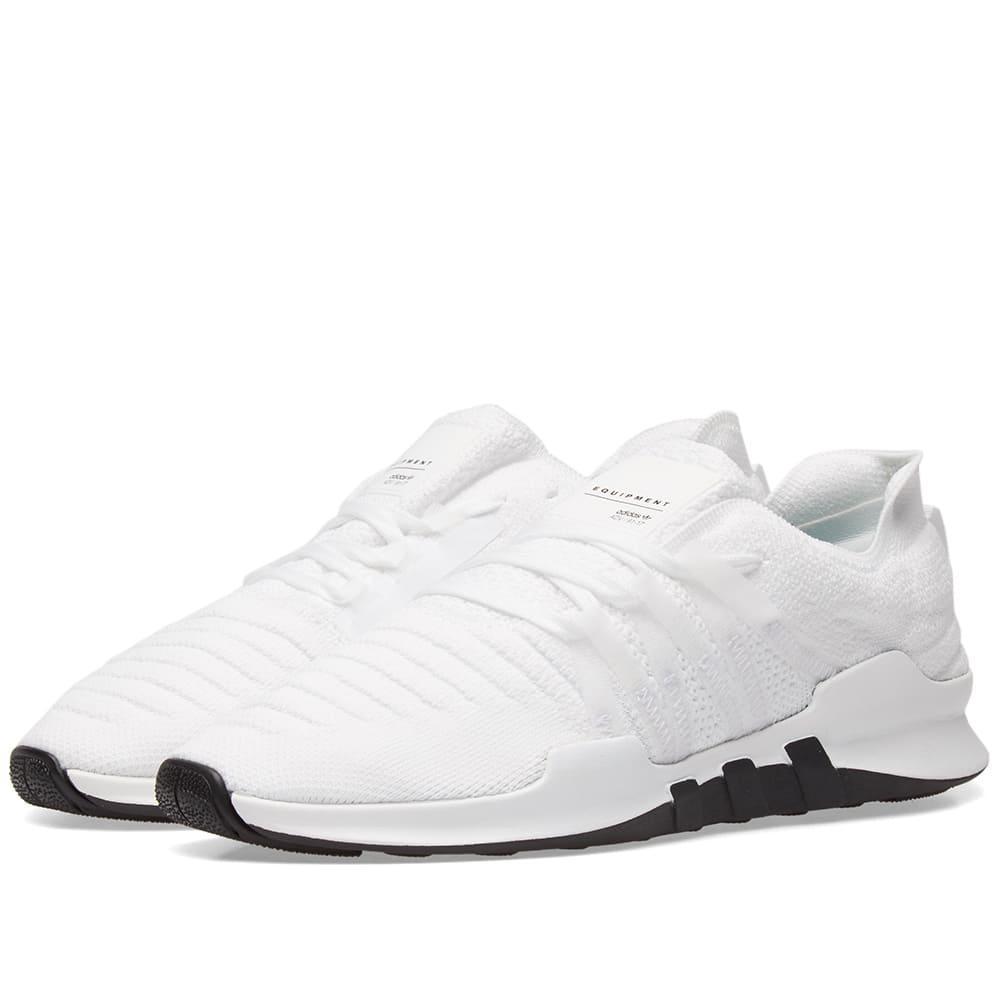 size 40 162e8 7cfab ADIDAS ORIGINALS. Eqt Racing Adv Primeknit Sneaker in White