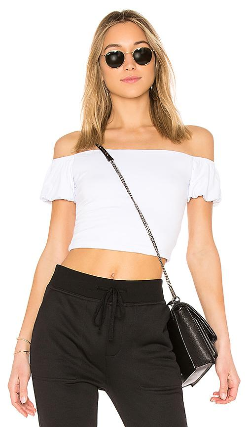 31f8e97ce6 By The Way. Quinn Off Shoulder Crop Top In White