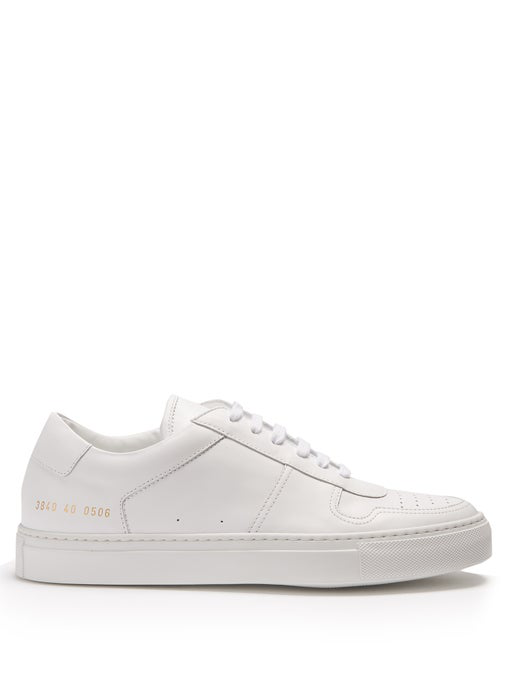 a7e2b37df5931 Common Projects Bball Low White Leather Women. COMMON PROJECTS. Bball Low  White Leather Women's Sneakers