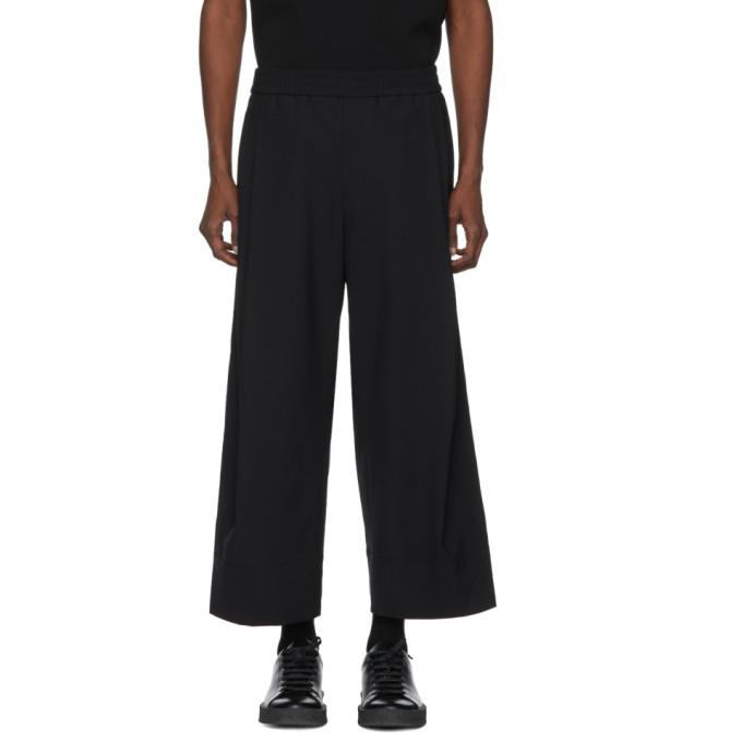 Wooyoungmi Black Oversize Trousers