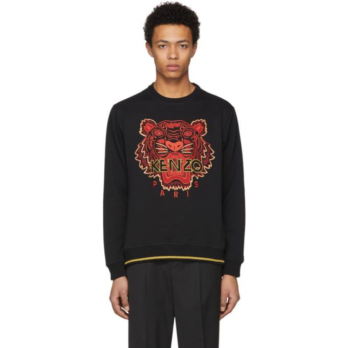 3ae37d11e0f Kenzo Black Limited Edition Chinese New Year Tiger Sweatshirt | ModeSens