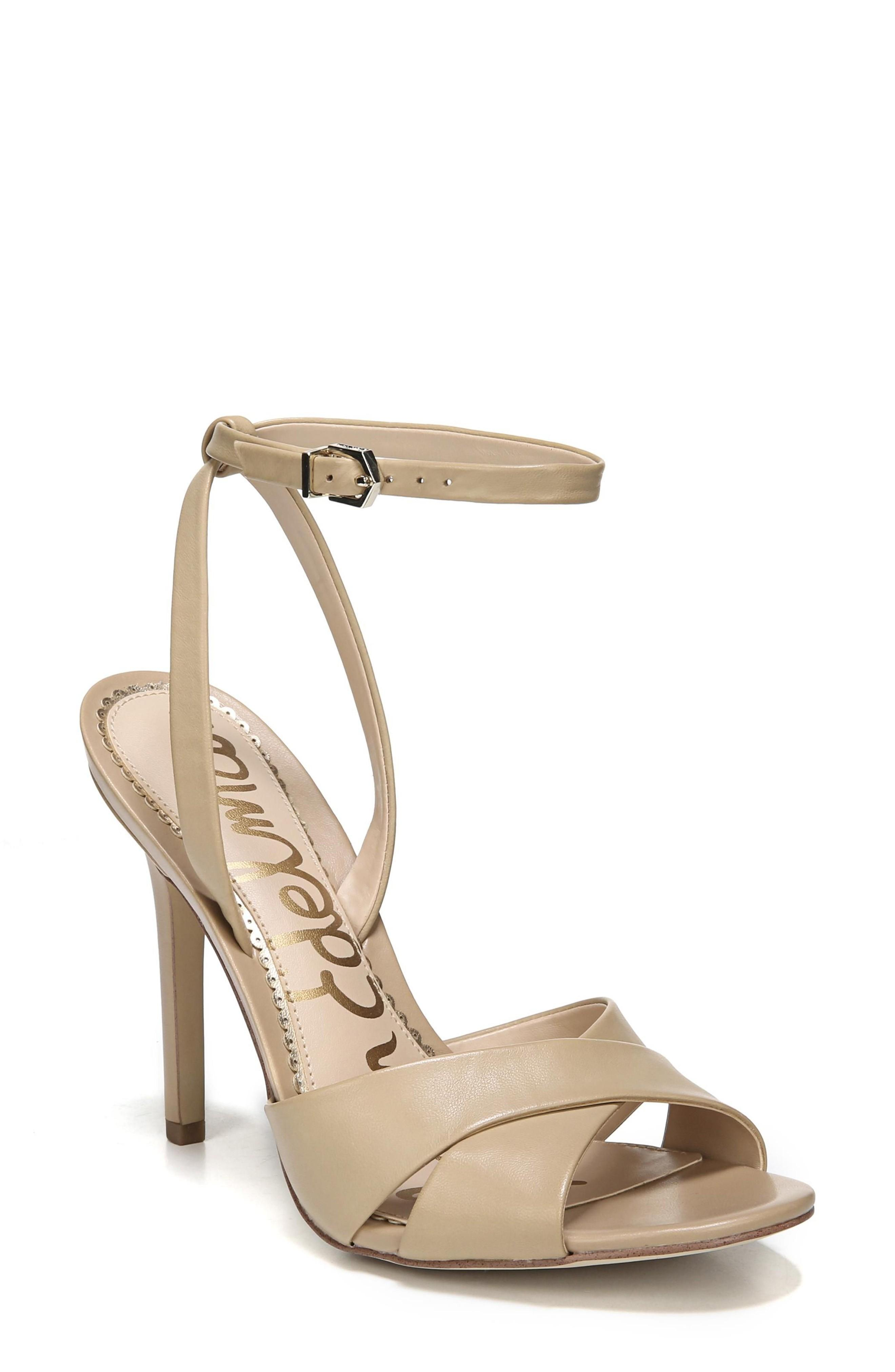 14533603eb9a A svelte ankle strap secures your foot in this leg-lengthening sandal with  a minimalist silhouette. Style Name  Sam Edelman Aly Ankle Strap Sandal  (Women).